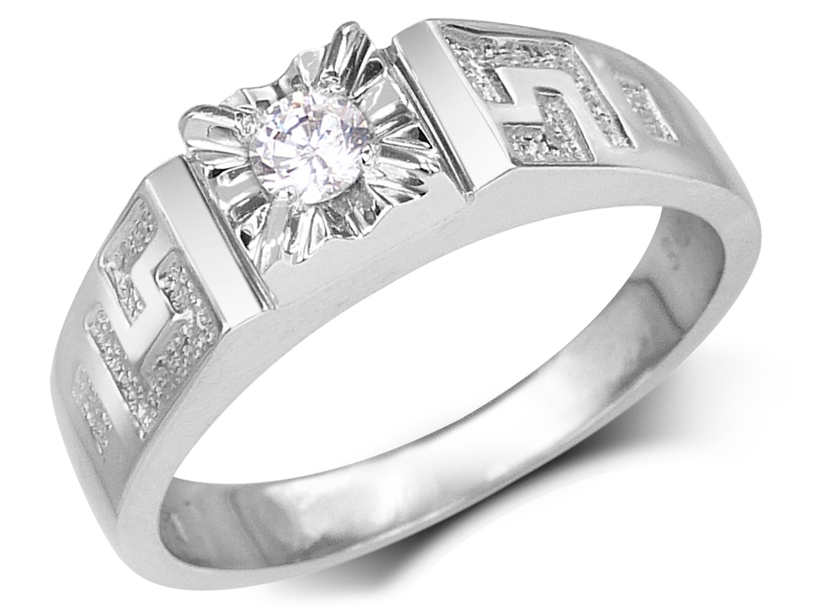 Solitaire Versace Diamond Ring For Men