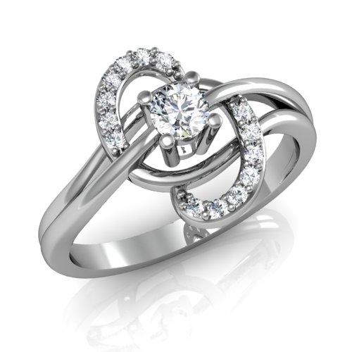 bague diamant tourbillon