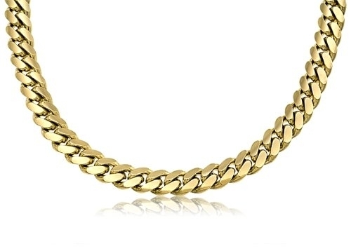 maille collier homme