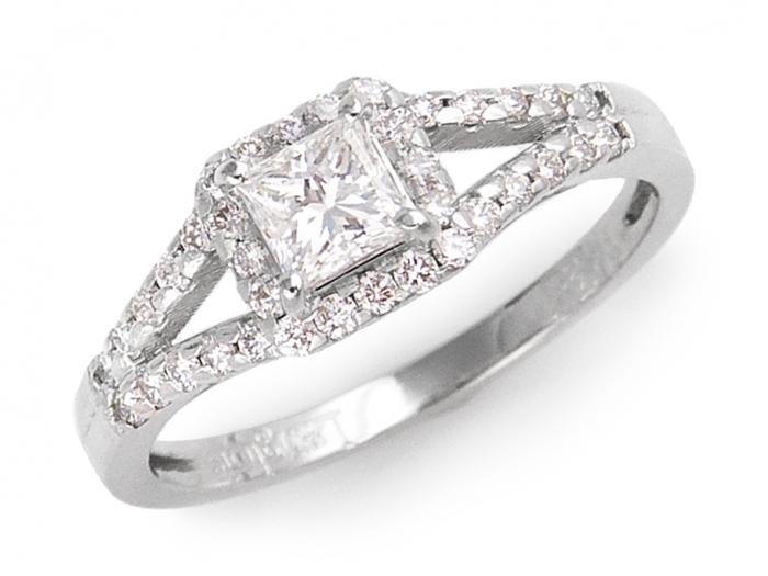 bague diamant jonc