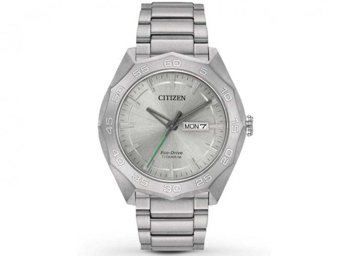 Montre Citizen Eco Drive Brycen en super titanium pour homme