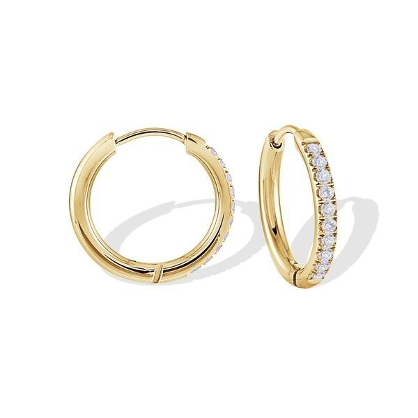 anneau boucle d'oreille acier