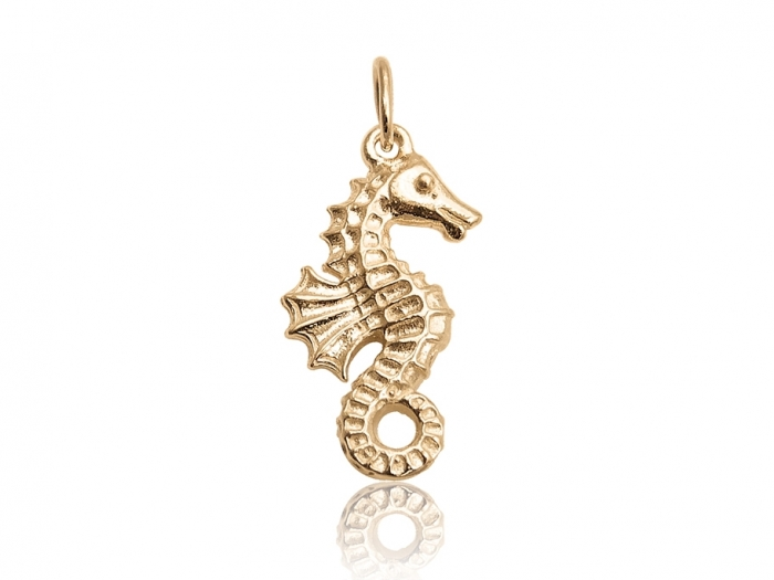 collier homme hippocampe