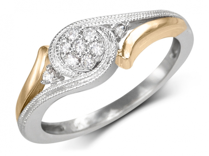 bague diamant gravure