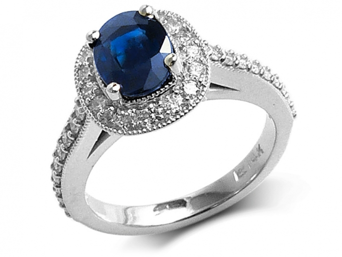 bague diamant vintage