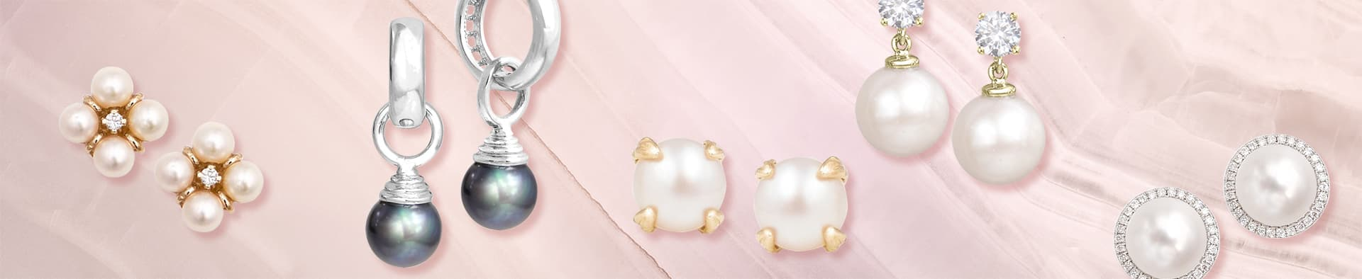 Lovely pearl earrings