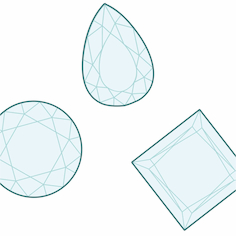 image quelle sont les formes de diamants bijouterie langlois