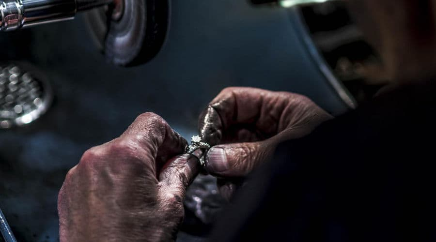 Etape fabrication bague polissage